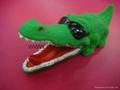 PVC鱷魚|搪膠魚|搪膠鱷魚|游泳魚|玩具游水魚|噴水魚 5
