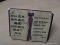 polyresin BIBLE plastic book accessories toy book