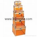 透明手提箱 胶箱 储物箱 亚克力箱 2