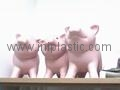 豬仔錢罐|小豬錢罐|儲錢罐|儲蓄罐|小豬錢筒|黑白豬錢缸 2