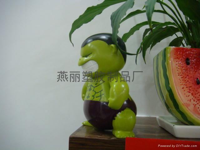 搪胶公仔 搪胶创意模型 搪胶创意人物门挡 中山玩具厂 8
