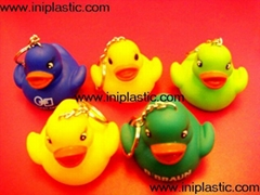 duck keychains duck with keychain chained ducks gift duckies