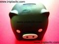 豬仔錢罐|小豬錢罐|儲錢罐|儲蓄罐|小豬錢筒|黑白豬錢缸 5