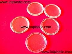 透明塑料圆片|透明片|透明圆形塑料片|圆形胶片|有色片