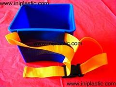 bucket blast game plastic bucket ice bucket