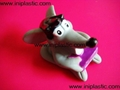 搪胶老鼠|PVC老鼠头|发声老鼠|发光老鼠玩具 7