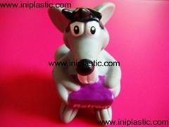 搪胶老鼠|PVC老鼠头|发声老鼠|发光老鼠玩具