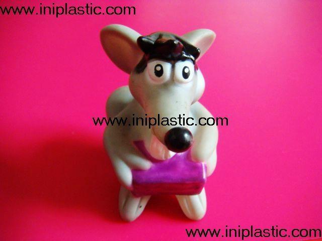 搪胶老鼠|PVC老鼠头|发声老鼠|发光老鼠玩具 3