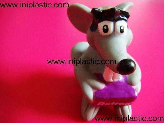 搪胶老鼠|PVC老鼠头|发声老鼠|发光老鼠玩具 13
