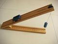 4)供应物理力学木制斜面及一系列物理实验器材