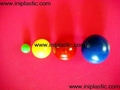 8)we supply plastic balls in different sizes