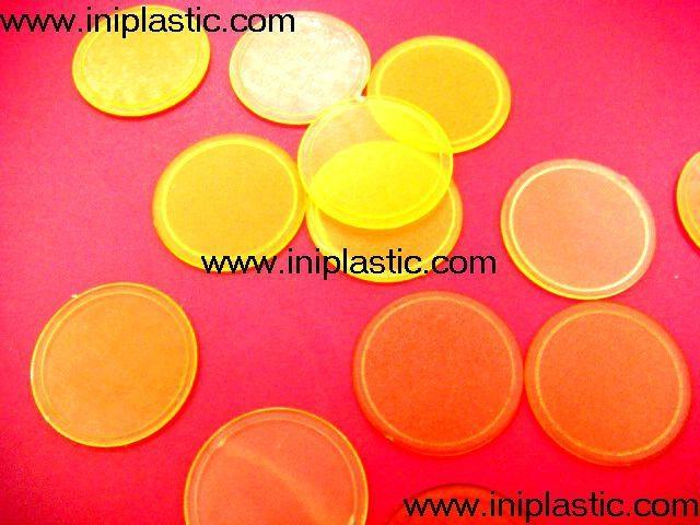 透明塑料圓片|透明片|透明圓形塑料片|圓形膠片|有色片 16