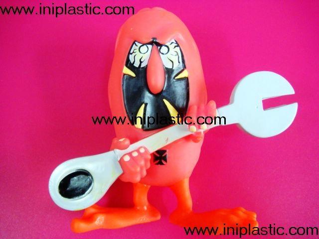 搪胶公仔 搪胶创意模型 搪胶创意人物门挡 中山玩具厂 2