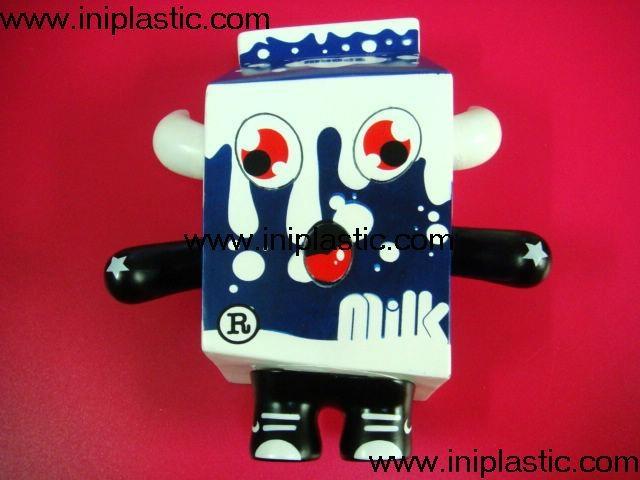 牛奶公仔奶牛玩具牛奶玩具牛奶金魚罐子固定器 14