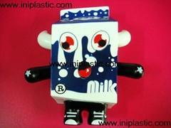 牛奶公仔奶牛玩具牛奶玩具牛奶模型玩具