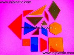 基本几何体|平面几何图形|拼板|拼图