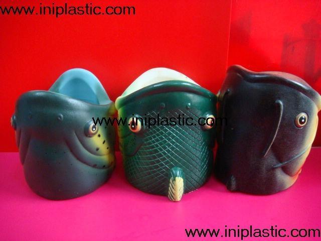鱼头可乐罐|鱼头固定器|装罐鱼头|鲨鱼鱼头罐子 4