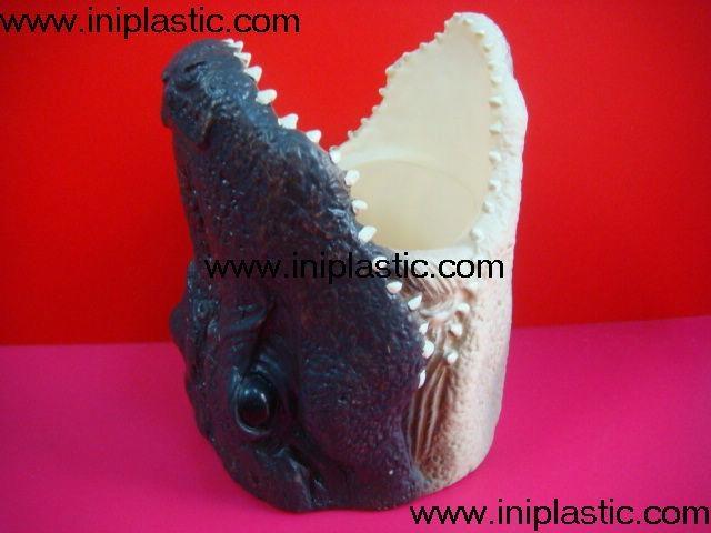 鱼头可乐罐|鱼头固定器|装罐鱼头|鲨鱼鱼头罐子 7