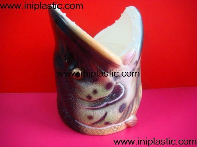 鱼头可乐罐|鱼头固定器|装罐鱼头|鲨鱼鱼头罐子 8