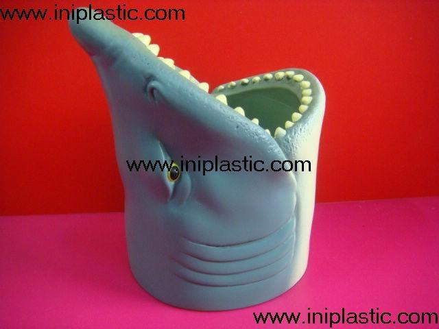 鱼头可乐罐|鱼头固定器|装罐鱼头|鲨鱼鱼头罐子 13