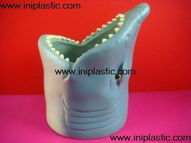 鱼头可乐罐|鱼头固定器|装罐鱼头|鲨鱼鱼头罐子 1