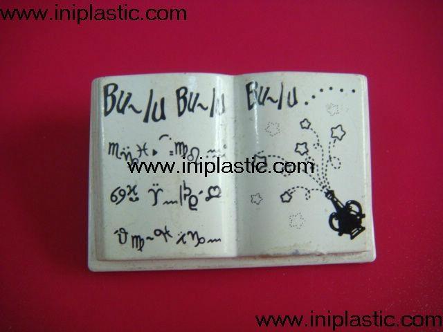 树脂胶圣经|塑料书本|塑胶书本配玩具书 2