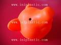 豬仔錢罐|小豬錢罐|儲錢罐|儲蓄罐|小豬錢筒|黑白豬錢缸 7