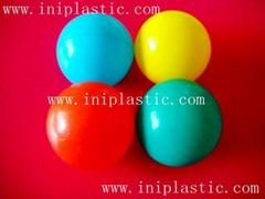 海洋球吹塑球波波池彈力球彈彈球塑膠球塑料球