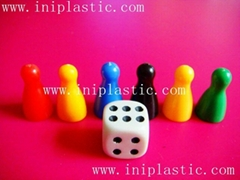 plastic pawns plastic pion plastic pions for board games