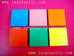 1 inch Square Color Tile