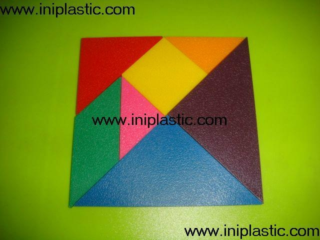 EVA tangrams plastic tangrams wooden tangrams foam cubes