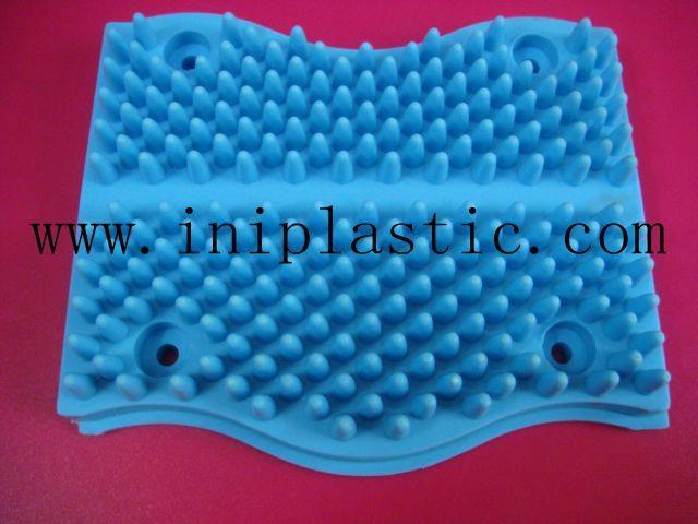寵物搔癢膠板動物搔癢塑料板寵物擦身子板 3