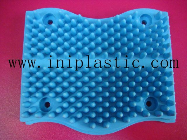 寵物搔癢膠板動物搔癢塑料板寵物擦身子板 4
