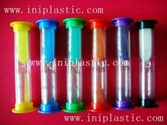 glass sand timer plastic sand timer transparent sand timer colour timer
