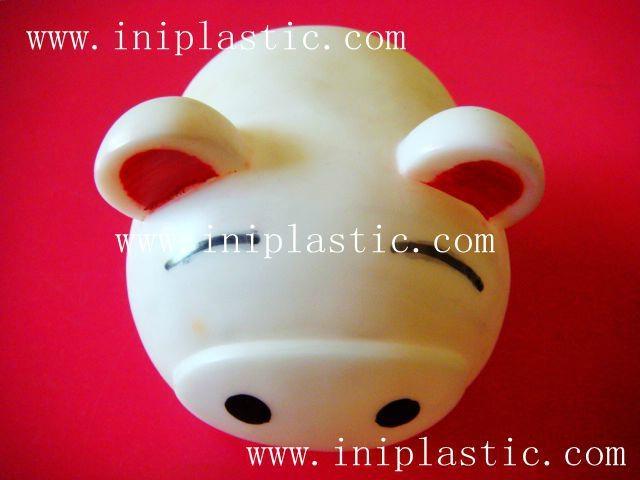 豬仔錢罐|小豬錢罐|儲錢罐|儲蓄罐|小豬錢筒|黑白豬錢缸 15