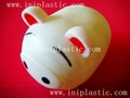 豬仔錢罐|小豬錢罐|儲錢罐|儲蓄罐|小豬錢筒|黑白豬錢缸 18