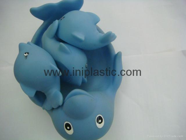 搪膠海豚|子母海豚|母親小海豚|玩具海豚 4