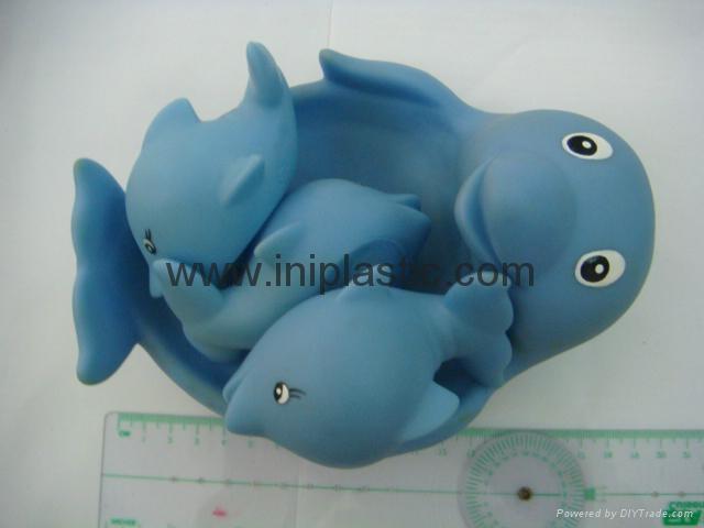 搪膠海豚|子母海豚|母親小海豚|玩具海豚 5
