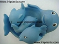 PVC dolphin vinyl dolphin mom and son