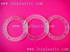 比例圈|数学圈|透明塑料圈|透明塑胶圈|分数测量圈