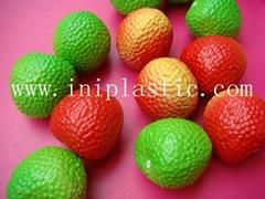 仿真水果仿真生果仿真荔枝塑料水果塑料蔬菜水果棋子