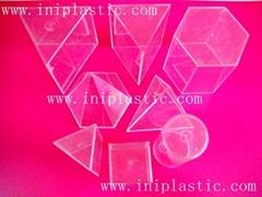 透明塑料量杯 量筒 几何形状测量容器 液体测量器皿