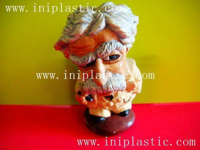 馬克吐溫樹脂膠工藝品|水溶膠工藝品|波麗工藝品 3