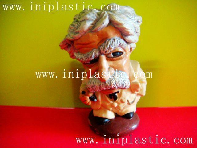 馬克吐溫樹脂膠工藝品|水溶膠工藝品|波麗工藝品 5