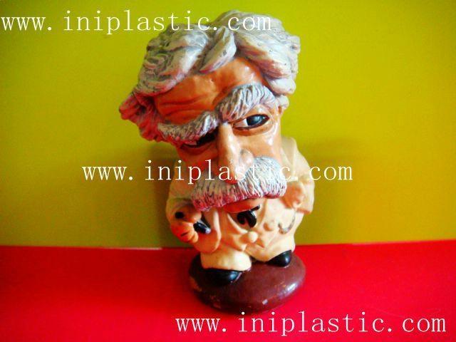 馬克吐溫樹脂膠工藝品|水溶膠工藝品|波麗工藝品 6