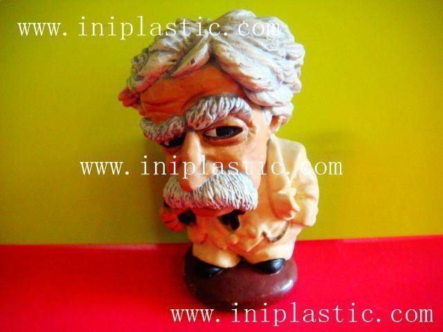 馬克吐溫樹脂膠工藝品|水溶膠工藝品|波麗工藝品 7