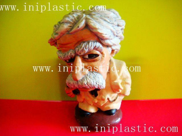 Mark Twain polyresin figurine resin crafts hand craft 8