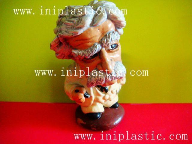馬克吐溫樹脂膠工藝品|水溶膠工藝品|波麗工藝品 9