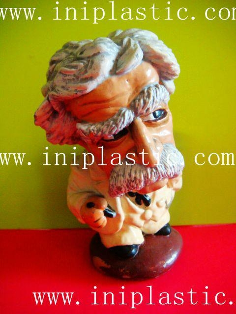 Mark Twain polyresin figurine resin crafts hand craft 10