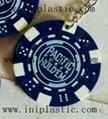 fridge magnet PVC magnetic sticker refrigerator poker chips keychain 7